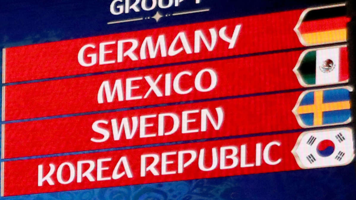Wm Gruppenspiele Deutschland