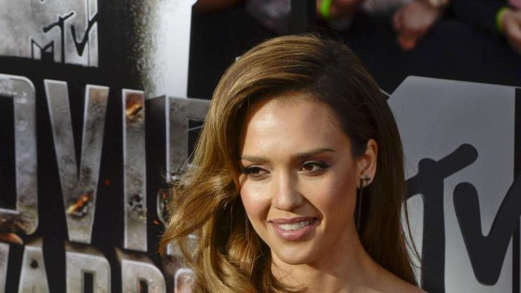 Jessica Alba 2014 in Los Angeles. Foto: Michael Nelson