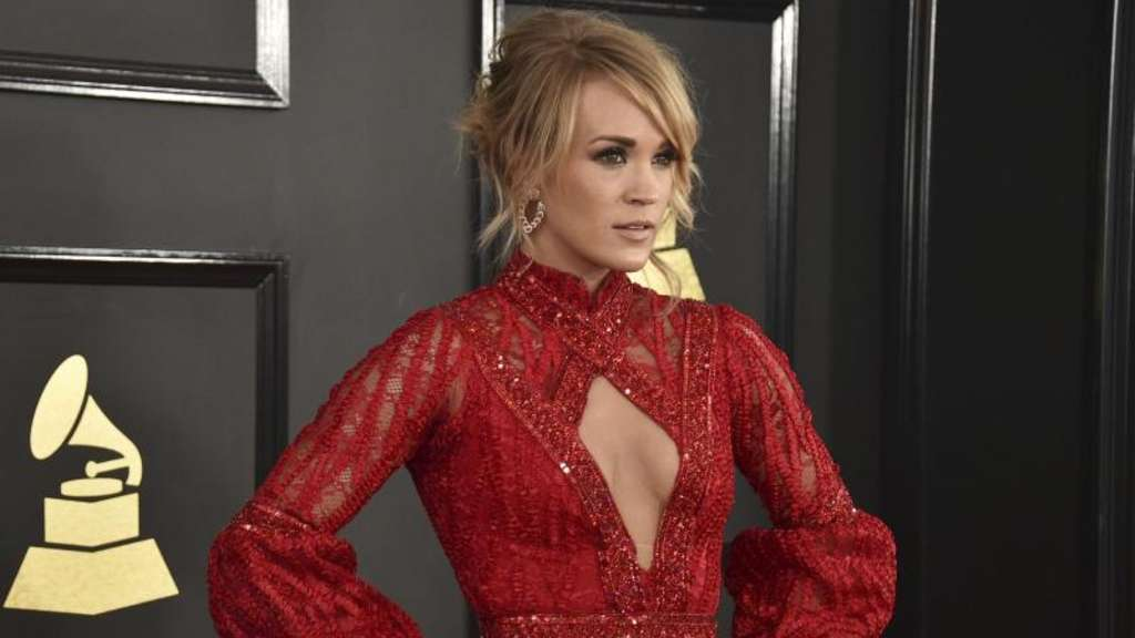 Carrie Underwood 2017 bei der Verleihung der Grammy Awards. Foto: Jordan Strauss