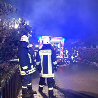 Video: Garagenbrand in Höringhausen