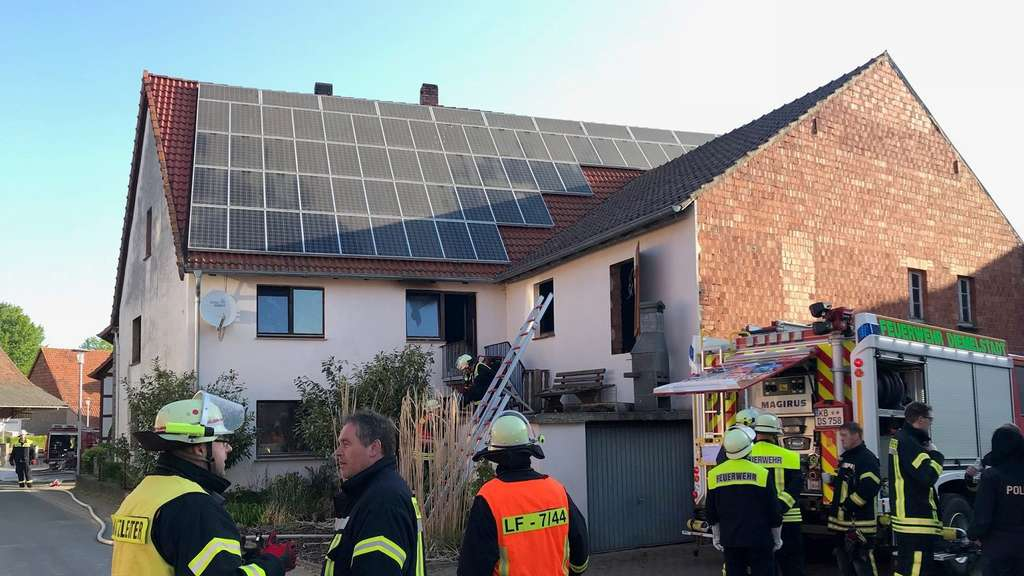 Brand in Dehausen