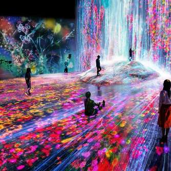 Neues Digital Art Museum in Tokio