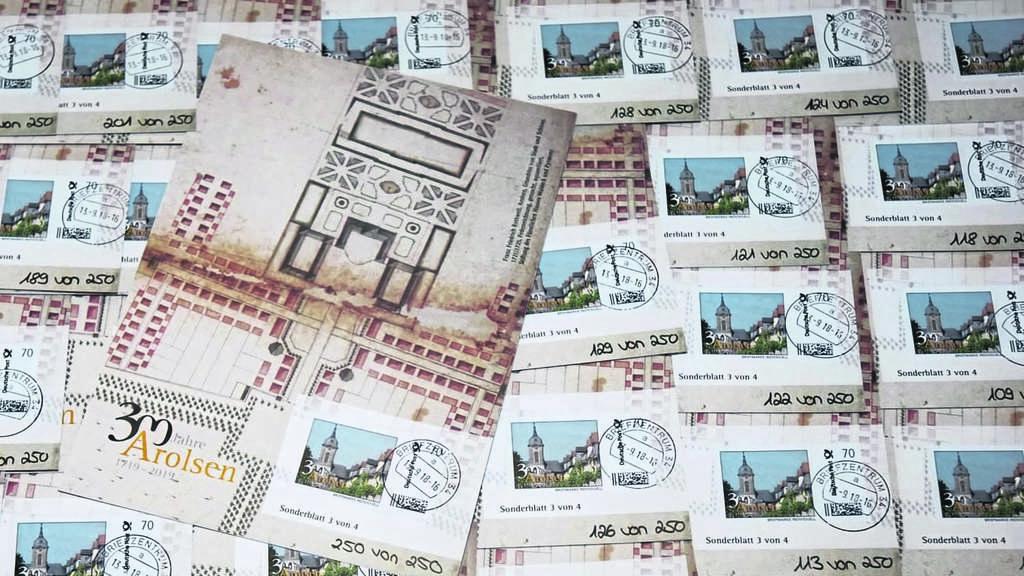 Das Ist Die Neue Arolser Jubiläumsmarke Bad Arolsen