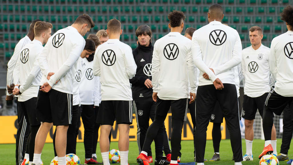 Nationalmannschaft - Training