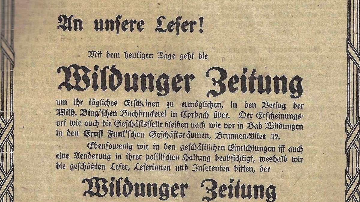 Waldecker Nachrichten