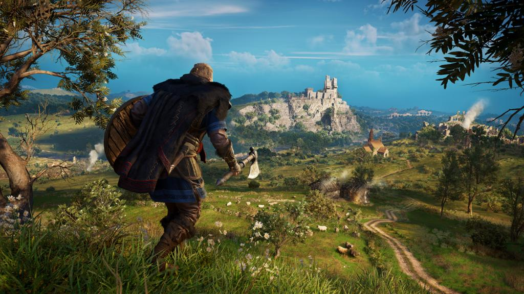 Assassin's Creed Valhalla Landschaft Erkundung