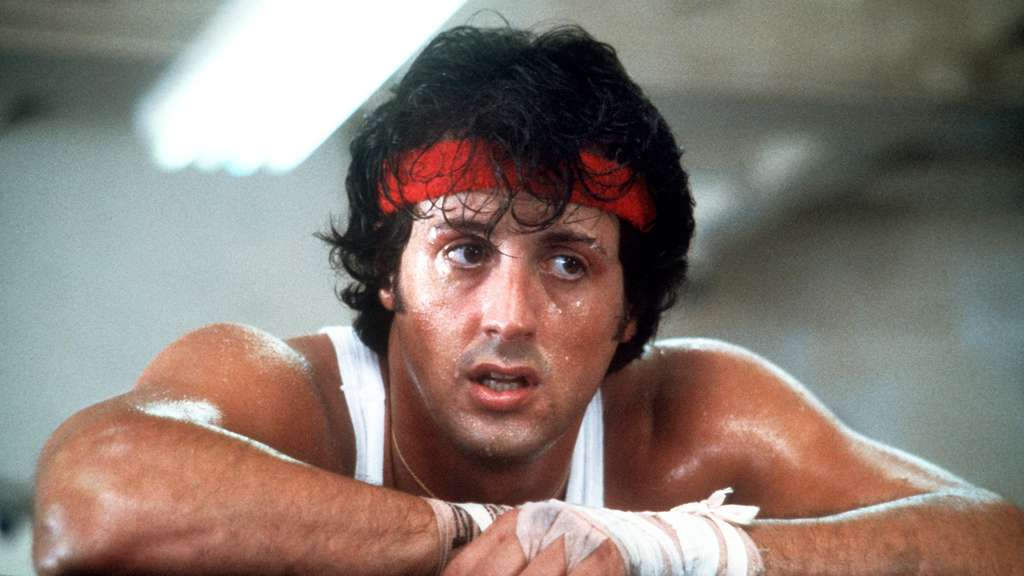 Sylvester Stallone in seiner Rolle als Boxer Rocky Balboa.